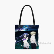 Brynhildr In The Darkness Custom Personalized Tote Bag Polyester with Small Medium Large Size