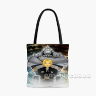 Fullmetal Alchemist Alphonse Elric and Edward Elric 2 Custom Personalized Tote Bag Polyester with Small Medium Large Size