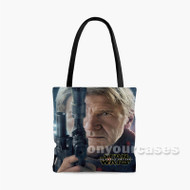 Han Solo Star Wars The Force Awakens 2 Custom Personalized Tote Bag Polyester with Small Medium Large Size