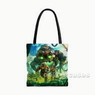Horizon Zero Dawn Custom Personalized Tote Bag Polyester with Small Medium Large Size
