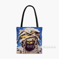 Iron Maiden Mummy Eddie Custom Personalized Tote Bag Polyester with Small Medium Large Size