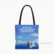 Kiki s Delivery Service Custom Personalized Tote Bag Polyester with Small Medium Large Size