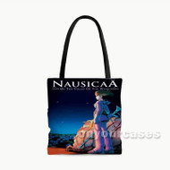 Nausica of the Valley of the Wind Custom Personalized Tote Bag Polyester with Small Medium Large Size