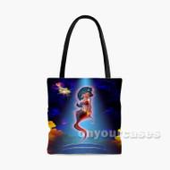 Princess Jasmine Aladdin Disney Custom Personalized Tote Bag Polyester with Small Medium Large Size