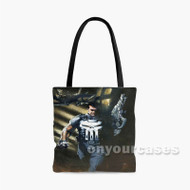 Punisher Daredevil Custom Personalized Tote Bag Polyester with Small Medium Large Size