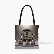 Star Wars R2 D2 2 Custom Personalized Tote Bag Polyester with Small Medium Large Size