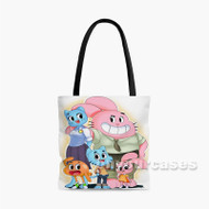 The Amazing World of Gumball 2 Custom Personalized Tote Bag Polyester with Small Medium Large Size
