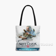 The Witcher 3 Wild Hunt Hearts of Stone Custom Personalized Tote Bag Polyester with Small Medium Large Size