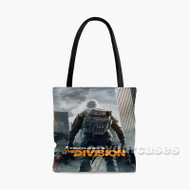 Tom Clancy s The Division Gameplay Custom Personalized Tote Bag Polyester with Small Medium Large Size