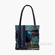 Boba Fett Star War The Force Awakens Custom Personalized Tote Bag Polyester with Small Medium Large Size