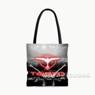 DJ Tiesto Custom Personalized Tote Bag Polyester with Small Medium Large Size