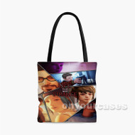 Life is Strange Collage Custom Personalized Tote Bag Polyester with Small Medium Large Size
