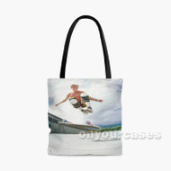 Rodney Mullen Skateboard Custom Personalized Tote Bag Polyester with Small Medium Large Size