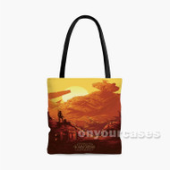 Star Wars The Force Awakens 2 Custom Personalized Tote Bag Polyester with Small Medium Large Size