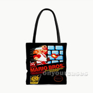 Super Mario Bros Nintendo Custom Personalized Tote Bag Polyester with Small Medium Large Size