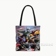 The Avengers Custom Personalized Tote Bag Polyester with Small Medium Large Size