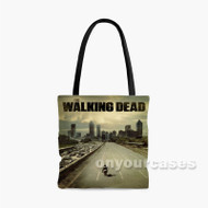 The Walking Dead Horse Custom Personalized Tote Bag Polyester with Small Medium Large Size