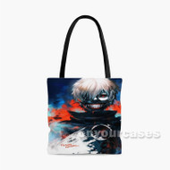 Tokyo Ghoul Ken Custom Personalized Tote Bag Polyester with Small Medium Large Size