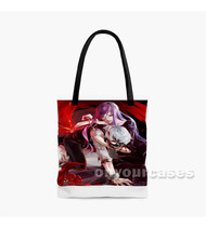 Tokyo Ghoul Rize and Kaneki Ken Custom Personalized Tote Bag Polyester with Small Medium Large Size
