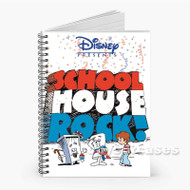 Schoolhouse Rock Custom Personalized Spiral Notebook Cover