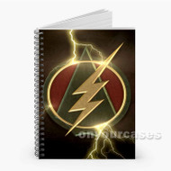 The Flash and Arrow Logo Custom Personalized Spiral Notebook Cover