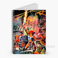 Thunder Cats Custom Personalized Spiral Notebook Cover