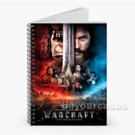 Warcraft Movie Custom Personalized Spiral Notebook Cover