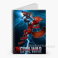 Zootopia Civil War Custom Personalized Spiral Notebook Cover