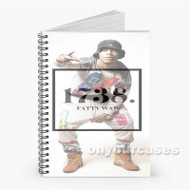 1738 Fetty Wap Custom Personalized Spiral Notebook Cover