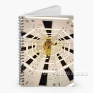 2001 A Space Odyssey Hallway Custom Personalized Spiral Notebook Cover