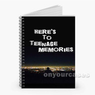 5 Seconds of Summer Teenage Memories Lyrics Custom Personalized Spiral Notebook Cover