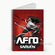 Afro Samurai Custom Personalized Spiral Notebook Cover