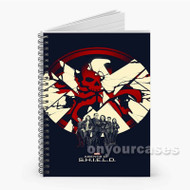 Agents of Shield Custom Personalized Spiral Notebook Cover