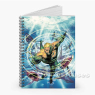 Aquaman Custom Personalized Spiral Notebook Cover