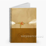 Avatar Aang Custom Personalized Spiral Notebook Cover