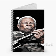 BB King Custom Personalized Spiral Notebook Cover