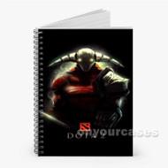 Dota 2 Sven Custom Personalized Spiral Notebook Cover