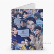 Ezra Koenig Custom Personalized Spiral Notebook Cover