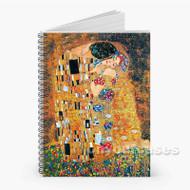 Gustav Klimt The Kiss Custom Personalized Spiral Notebook Cover