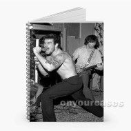 Henry Rollins Black Flag Custom Personalized Spiral Notebook Cover