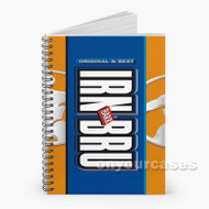 Irn Bru Soft Drink Custom Personalized Spiral Notebook Cover