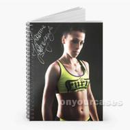 Joanna J drzejczyk UFC Custom Personalized Spiral Notebook Cover