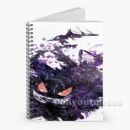POkemon gengar Custom Personalized Spiral Notebook Cover