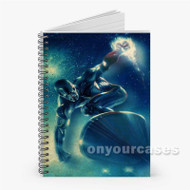 Silver Surfer Custom Personalized Spiral Notebook Cover