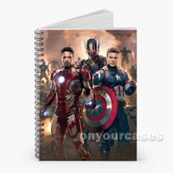 The Avengers Age of Ultron Custom Personalized Spiral Notebook Cover