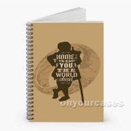 The Hobbit Custom Personalized Spiral Notebook Cover