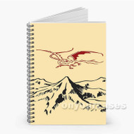 The Hobbit Dragon Custom Personalized Spiral Notebook Cover