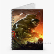 The Incredible Hulk Custom Personalized Spiral Notebook Cover