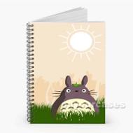 Totoro My Neighbor Totoro Custom Personalized Spiral Notebook Cover