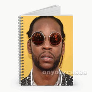 2 Chainz Custom Personalized Spiral Notebook Cover